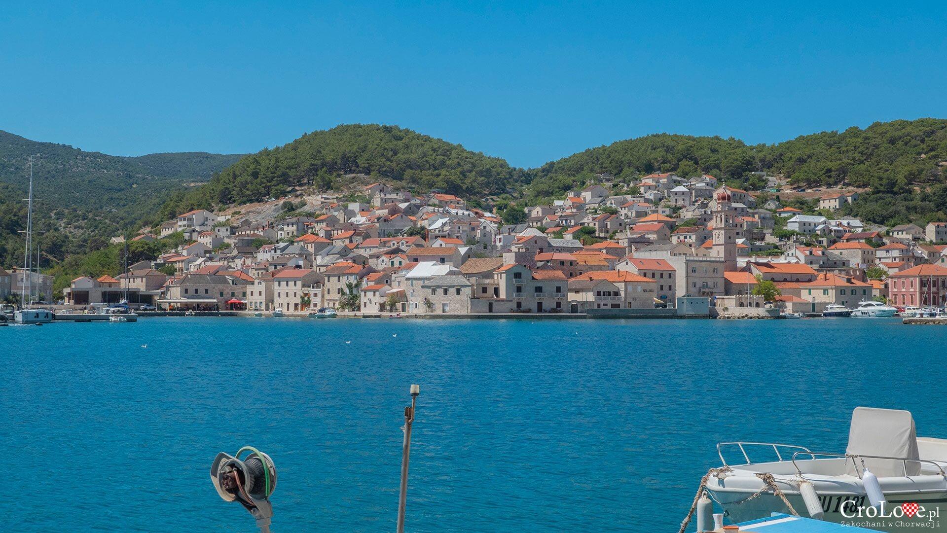 Pučišća na wyspie Brač