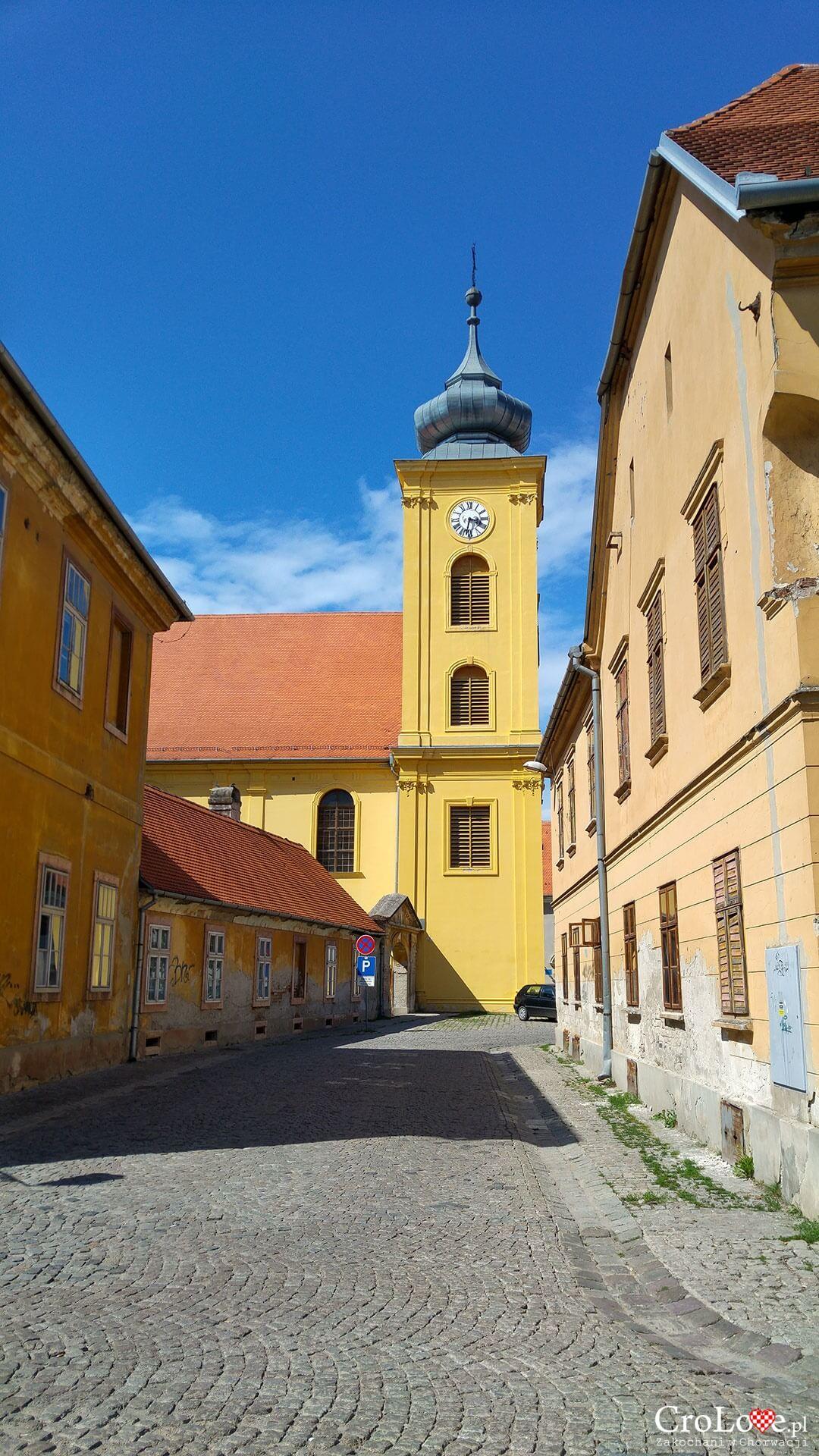 Kościół św. Michała Archanioła w twierdzy Tvrđa w Osijeku