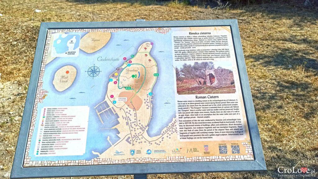 Pozostałości Colentum - Betina - wyspa Murter