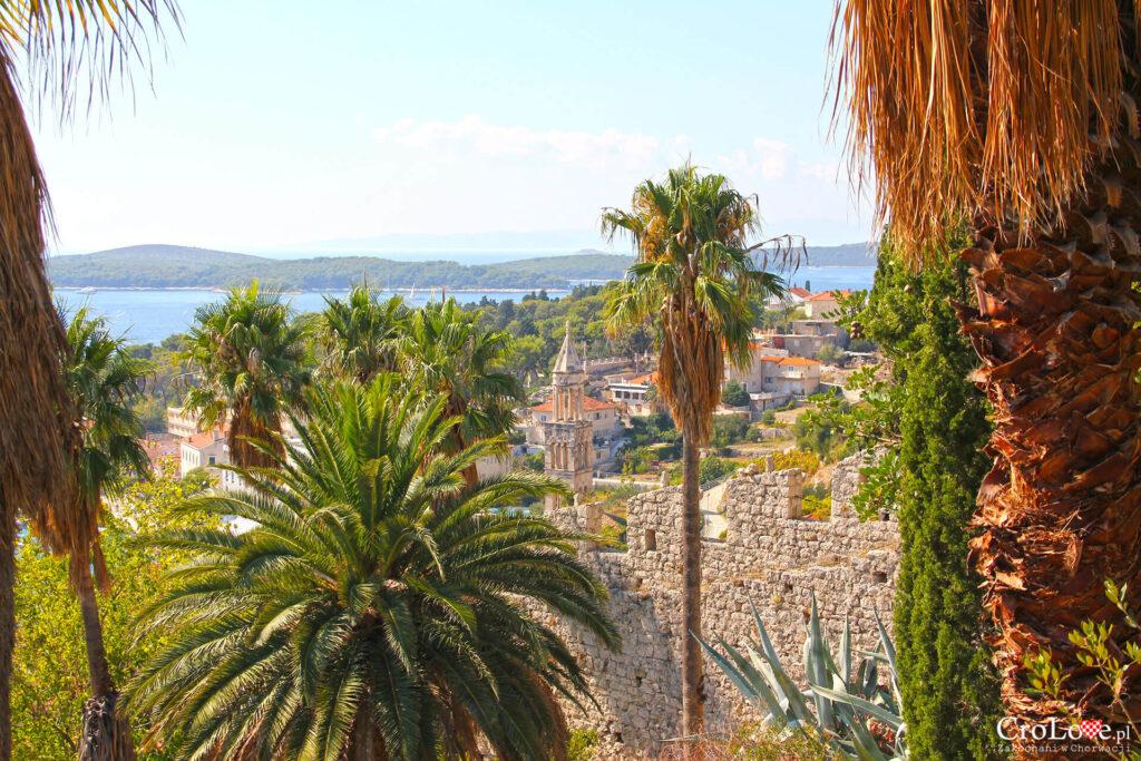 Panorama Hvaru z Twierdzy Španjola