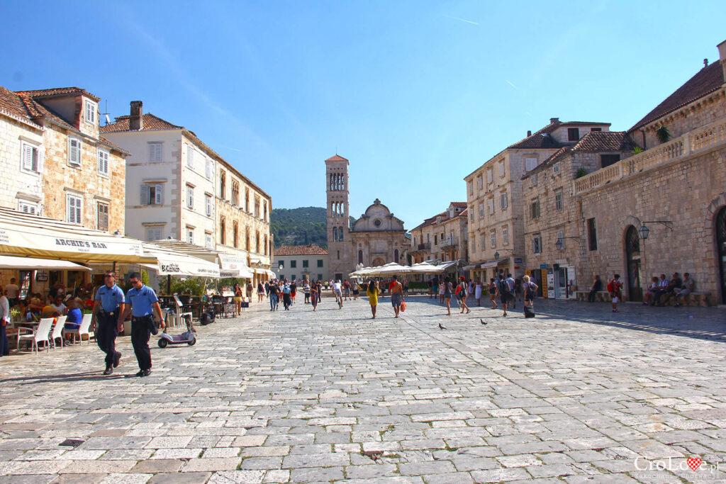 Plac św. Szczepana w Hvarze