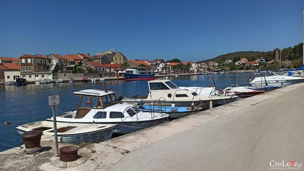 Vrboska na wyspie Hvar